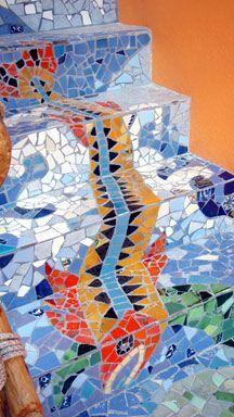 garden mosaic materials - Google Search