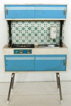 60s toy kitchen