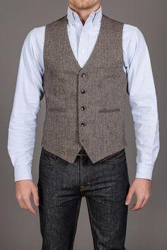 Threads 4 Thought Herringbone Vest