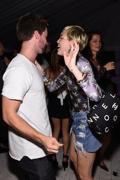 Go inside Miley Cyrus and Patrick Schwarzenegger's festivities in Miami.