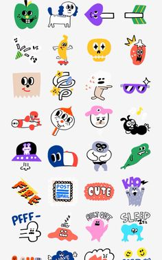 B16 Line Illustration, Character Illustration, Graphic Design Illustration, Illustrations And Posters, Design Reference, Cute Stickers, Sticker Design, Doodle Art, Art Inspo