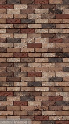 Manufactured in:Europe Type:handformed Texture:handformed Colour type:varied Colour:brown, red Brick Design Wallpaper, Red Brick Wallpaper, Funky Wallpaper, Gold Wallpaper, Brick Texture, Tiles Texture, Stone Cladding Texture, Stone Decoration, Wall Cladding Tiles