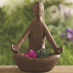 Volcanic Ash Offering Goddess Statue - Handcrafted from Volcanic Rock…