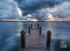 The Calm After the Storm Premium Photographic Print by Trey Ratcliff at Art.com