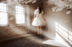 Embracing Creativity - Jenny Giles Photography Abandoned buildings and imaginations. Magic and fairytale. Horror and mystical happenings. Fallen angel.
