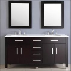 72-Inch Double Basin Sink with Porcelain Countertop.