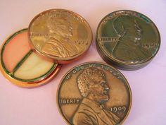 This one was cool because the penny actually tarnished over time - the lip gloss color was pretty decent too.