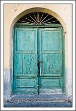 I love doors and windows- is that totally wierd?  To like pictures of these things?
