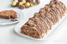 Ferrero Rocher Cake Recipe has been so, so Loved by you all, that it has inspired me to create another Ferrero Rocher Cake. Have you seen all those comments with photos? Thank you guys!! Back to this recipe ;) Sometimes when creating my own recipe from scratch, I am skeptical of the turnout. The next morning after making it, I had it with a latte and right from the first bite, I knew that this recipe was a slam dunk! The turnout was better than I could have ever imagined.