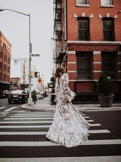 RUE de SEINE   By Tezza Bohemian Wedding dresses NYC wedding