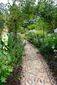 Mosaic Garden Path, Lincolnshire. by Fred Welch Photo, via Flickr