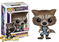 SDCC exclusives - Guardians of the Galaxy – Nova Rocket with Potted Groot SDCC