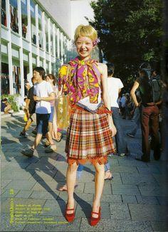 Japanese Street Style, by Shoichi Aoki #Shoichi Aoki #FruitsJapan #Harajuku #JapaneseStreetStyle #FruitsMagazine