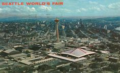 The Space Needle stood proudly over the World's Fair. This site has a collection of postcards from that Worlds' Fair.