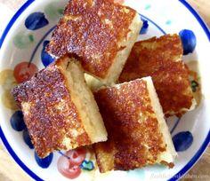 Fijian Cassava Cake (paleo AIP vegan) from Flash Fiction Kitchen
