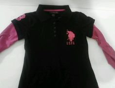 U.S. Polo Girls Shirt Size 14/16