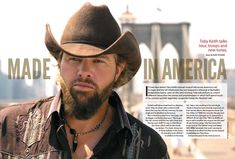 """Toby Keith Talks Locked & Loaded Tour, Supporting the Troops, Playing at the Bluebird Cafe and New Tunes """"Made in America,"""" """"Get Out of My Car"""" and Number One Song, Country Music Singers, Made In America, Famous Artists, Getting Out, Blue Bird, Troops, Picture Photo, Nashville"""