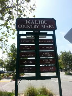 Malibu Country Mart in Malibu, CA Like us on Facebook! www.betancourtrealtygroup.om