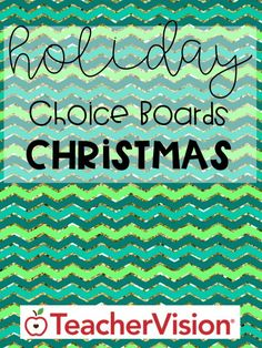 Use this choice board and activity packet to help elementary students build skills and celebrate the Christmas holiday. #Christmas #choiceboard #Christmasactivities Best Christmas Pageant Ever, A Christmas Story, Holiday Homework, Children's Book Awards, Choice Boards, Holiday Fun, Christmas Holiday, Enrichment Activities, Printable Numbers