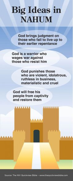The Quick View Bible » Big Ideas in Nahum