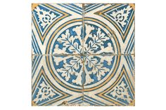 Our Kaleidoscope ceramic tiles have been designed by prestigious designer Francisco Segarra, known for his vintage furniture. This fantastic collection brings all the character and flavour of vintage tiles to modern day interior design.  Kaleidoscope has a striking almost psychedelic pattern in a blue, white and yellow palette, with all the charm and style of handmade vintage tiles. These tiles are finished with worn edges and with a scored line, and when you grout into this line it gives…