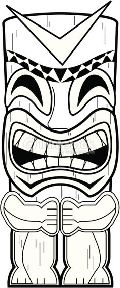 coloring pages tiki - photo #41