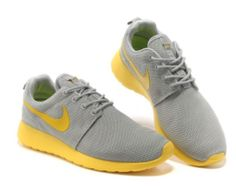 sports shoes dfb54 f655a greece find new arrival nike roshe run junior womens gray yellow shoes  online or in footlocker