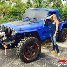 This is one of the sexiest Tj/truck ever! Shout out to @oneloveforpaint for this great photo. #tj #jeep #jeeps #jeepgirl #jeepgirls #jeepher #jeepgirlfridays #JEEPFLOW