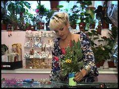 Флористика. букетик из пуговиц и цветов