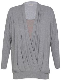 Kaliko Double Layer Top, Grey/Multi online at JohnLewis.com