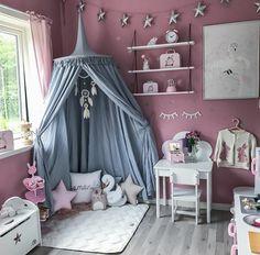 Teen Girl Bedrooms, Big Girl Rooms, Room Tour, Kid Beds, Babies Rooms, Kids  Rooms, On Instagram, Tent Canopy, Classroom Ideas