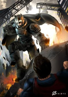 ArtStation - Batman Vs Superman, Kevin Koesnodihardjo