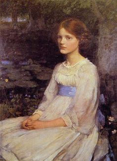 Miss Betty Pollock - John William Waterhouse