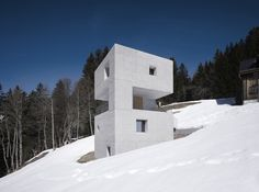 Chalet design: the 9 best architects to create your mountain retreat - The Spaces Contemporary Architecture, Amazing Architecture, Interior Architecture, Minimalist Architecture, Interior Design, Room Interior, Contemporary Design, Chalet Design, Tower Building