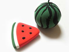 Diy For Kids, Biscuit, Watermelon, Clay, Fruit, Clays, Crackers, Biscuits, Modeling Dough