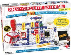 Model: SC-750 - Snap Circuits  ® Extreme 750 Experiments