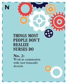 """National Nurses Week is around the corner —there's no better time to educate the public on what nurses do. Read & share: """"5 things most people don't realize nurses do."""""""