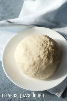no yeast pizza dough recipe with step by step photos - easy to prepare pizza dough without yeast.    one of the recipes for which i have got many requests is pizza dough without yeast. i tried
