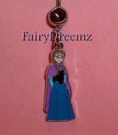 Princess ANNA From Frozen Disney Belly Navel Ring by FairyDreemz, $9.00