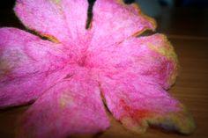 Flor fieltrada