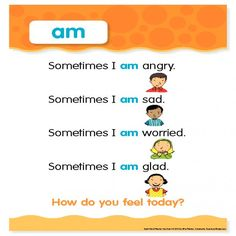 "Sight Word Poem: ""am"""