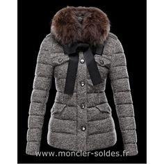 7adf8e16863 Doudoune Moncler Pas Cher Cachalot Femme Gris Marken Outlet