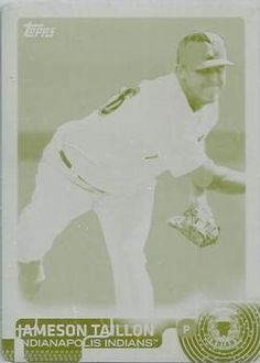 2015 Topps Pro Debut - Printing Plates Yellow #190 Jameson Taillon Front