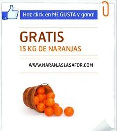 Hazte Fan y consigue una caja de naranjas gratis!! www.naranjaslasafor.com
