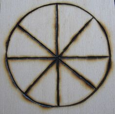 how to make pagan symbols from sticks