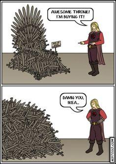 IKEA's Iron Throne
