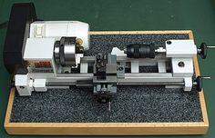 Leave it to a German engineer to mount it on granite! Nice Unimat 3 Austrian mini-lathe