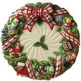 """Found it at Wayfair - Christmas Gifts 16.5"""" Round Platter"""