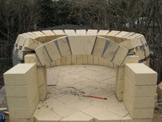 Brick Oven : 11 Steps (with Pictures) - Instructables Brick Oven Outdoor, Pizza Oven Outdoor, Outdoor Bars, Outdoor Grilling, Outdoor Rooms, Outdoor Living, Outdoor Showers, Outdoor Kitchens, Diy Pizza Oven