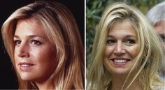Princess Maxima of the Netherlands - 10 years betwen the two pictures!